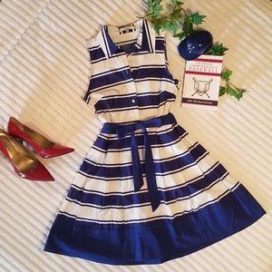 {Milly} Striped Dress